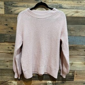 American Eagle sweater light pink